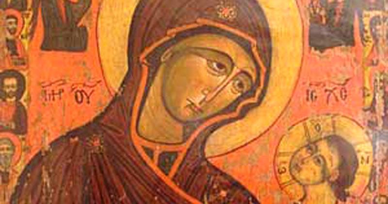Icoana Maicii Domnului de la Dintr-un Lemn. Făcătoare de minuni! Roagă-te ei cu multă credință și-ți va îndeplini dorința!