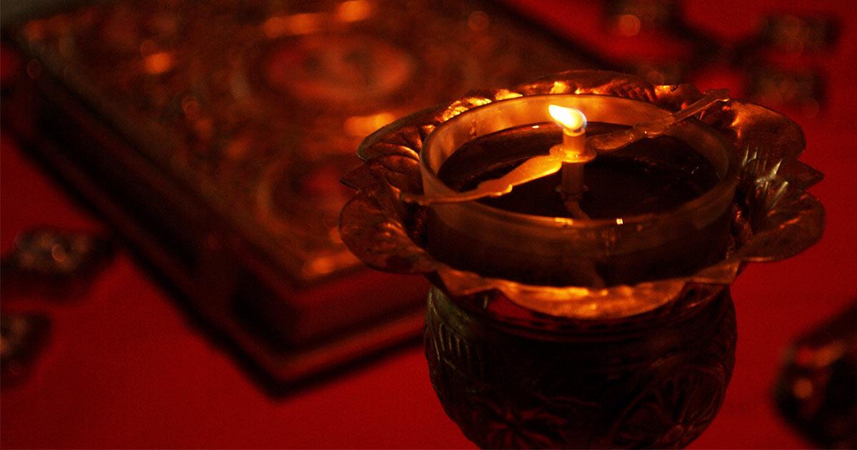 Rugăciune la aprinderea candelei