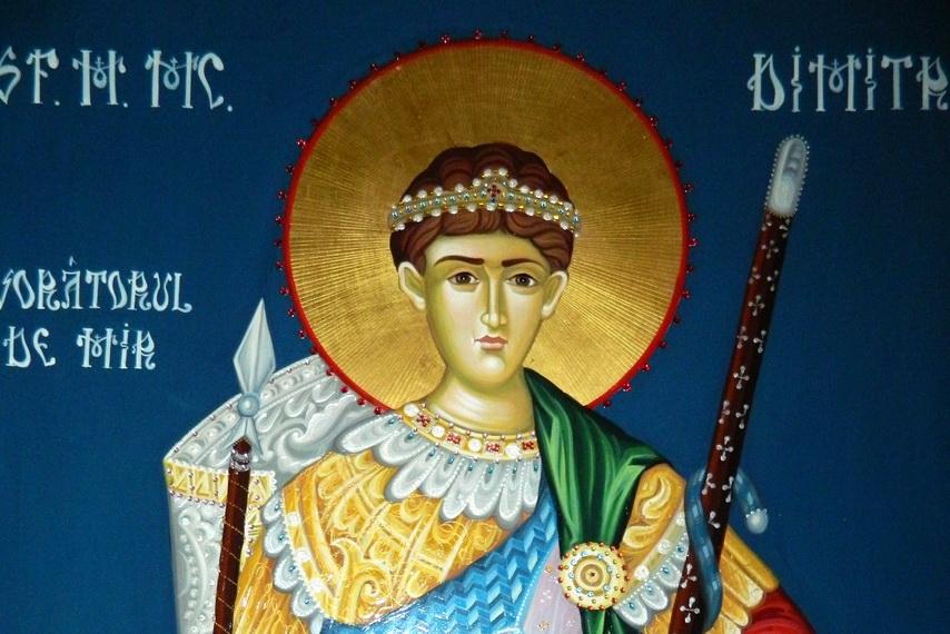 Acatistul Sfantului Dimitrie Basarabov  |Sf. Dumitru