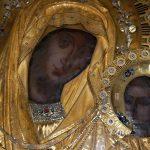 """Icoana Maicii Domnului """"Grabnic Ascultatoarea"""" de la Manastirea Dochiariu, Sfantul Munte Athos"""