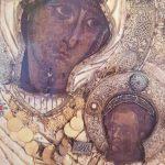 """Istoria icoanei Maicii Domnului """"Portărița"""", de la Sfantul Munte Athos"""